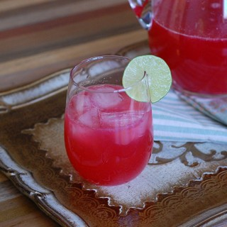 Cranberry Lime Rickeys