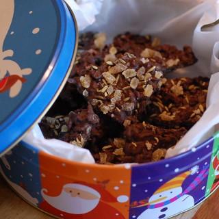 Crispy Chocolate Bark with Ginger, Fennel, and Sea Salt