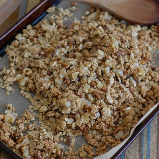 Ginger Walnut Granola