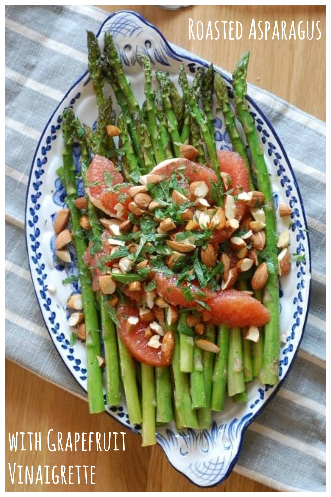 This simple roasted asparagus salad is bursting with citrus flavor!
