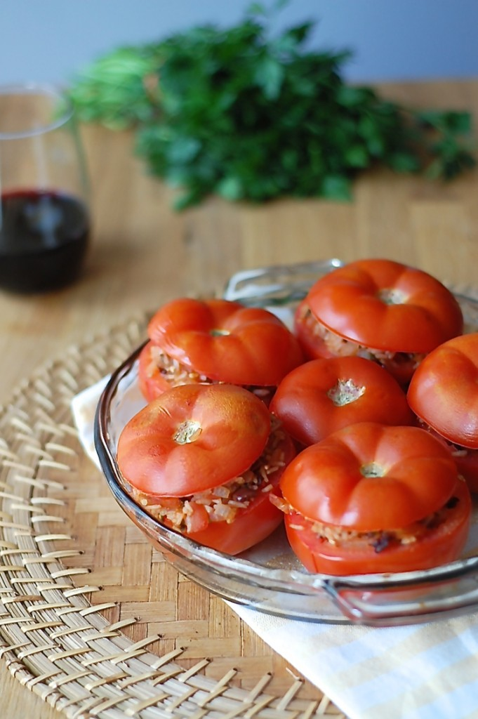 Vegan Stuffed Tomatoes 3