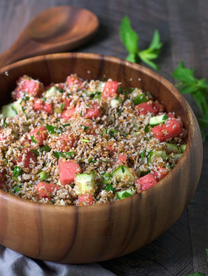 Watermelon Tabbouleh