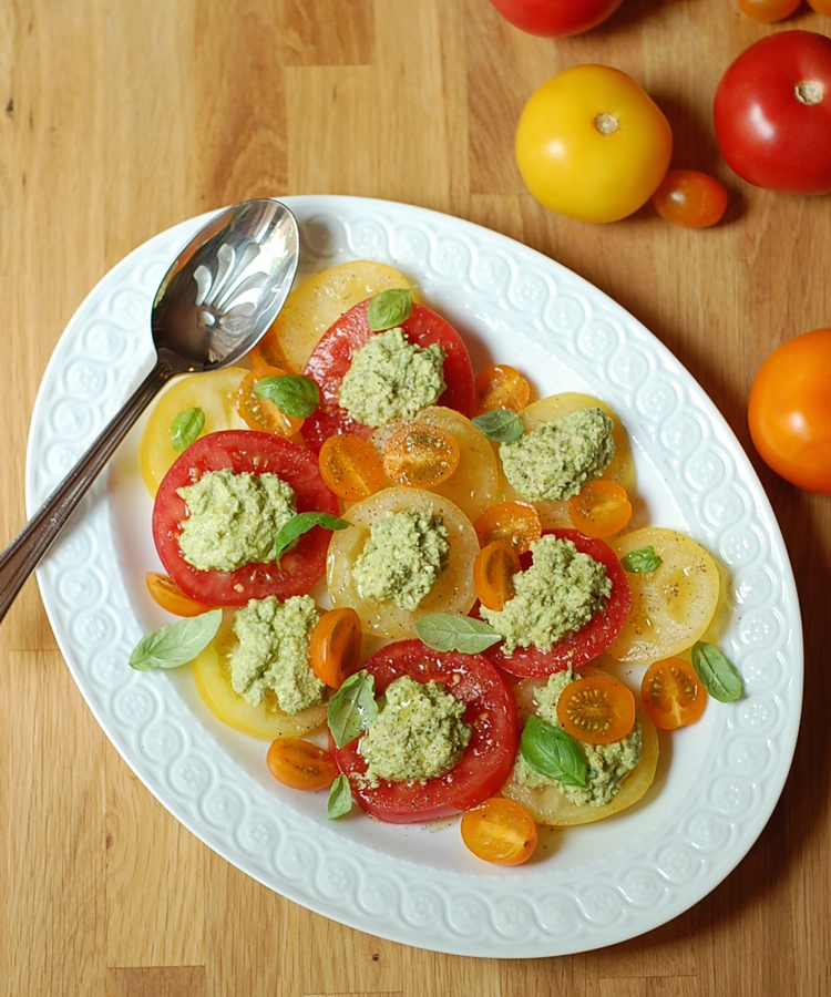 vegan tomato salad