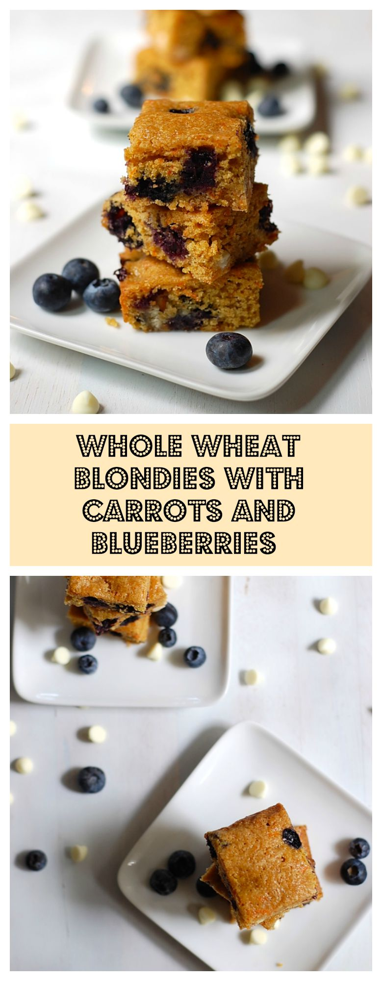 Whole wheat blondies pin