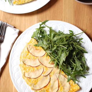 Two Yolk Apple Quinoa Frittata