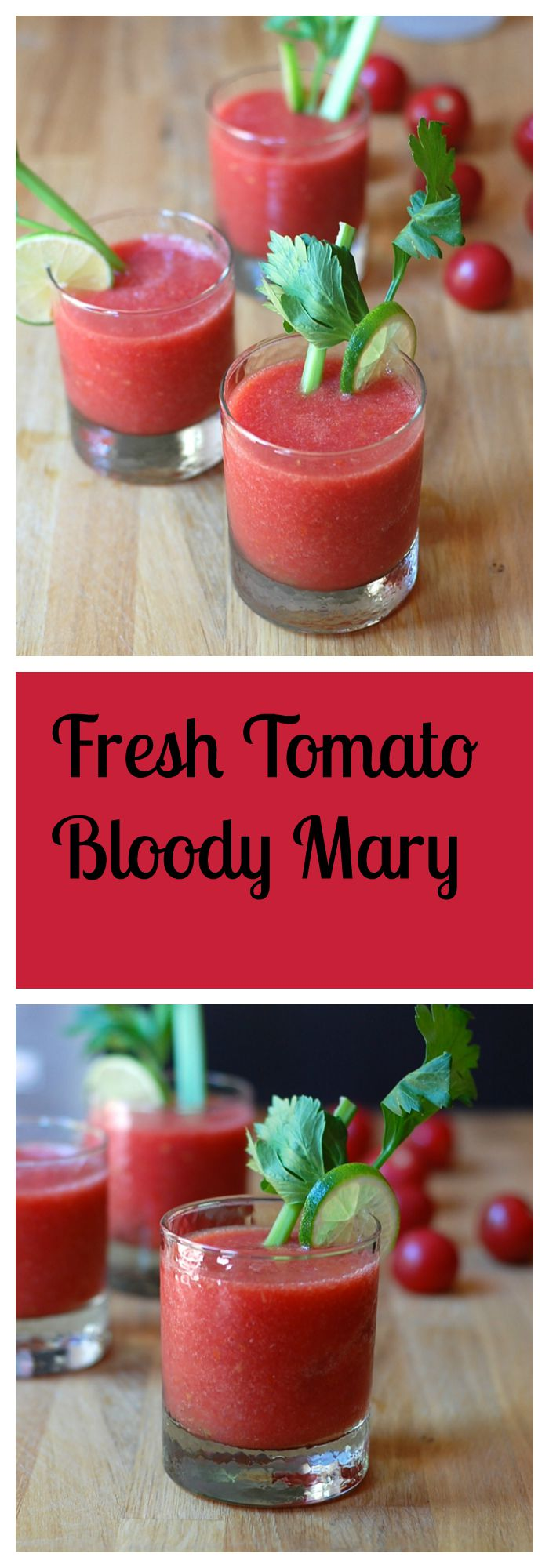 Fresh Tomato Bloody Mary Recipe