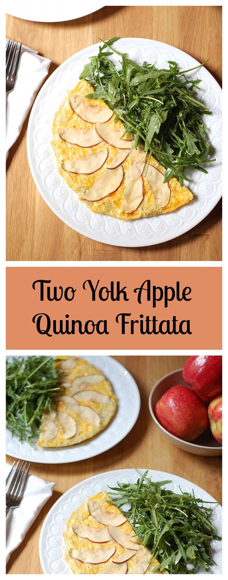 Gluten-Free Apple Quinoa Frittata