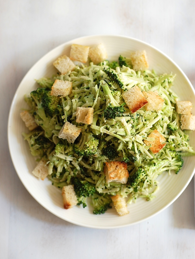 Broccoli Caesar Salad 2
