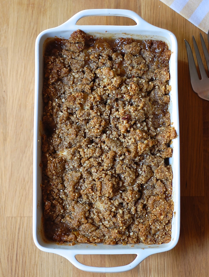 apple pear crisp