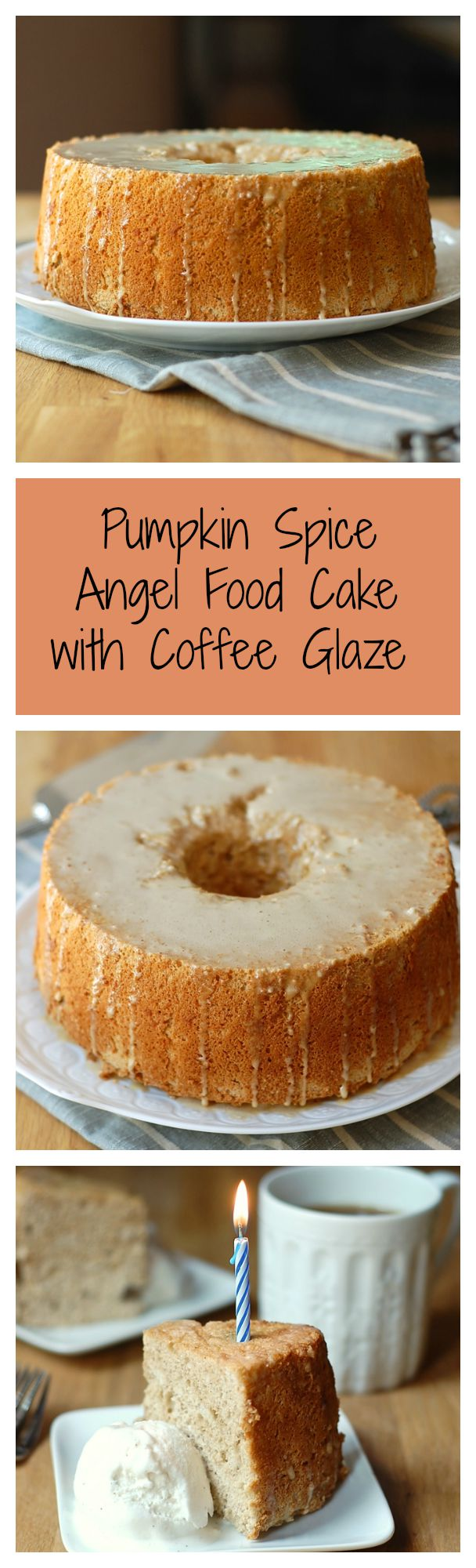 Coffee Cake In Angel Food Pan