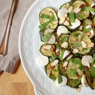 zucchini mozzarella salad
