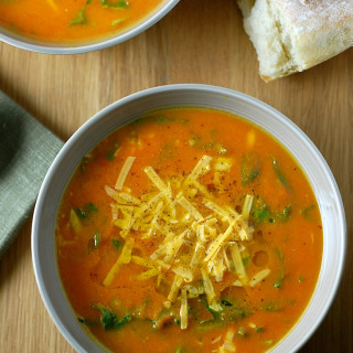 Carrot Cheddar Soup