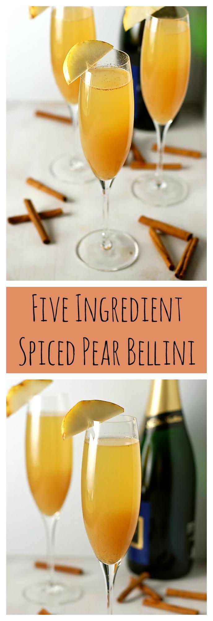 Spiced Pear Bellini