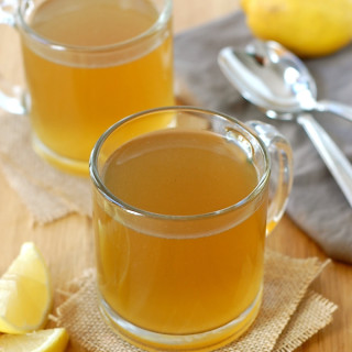 Healing Lemon Ginger Bone Broth