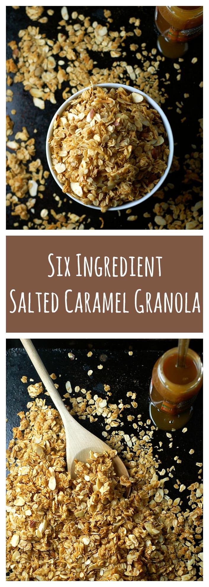 salted caramel granola