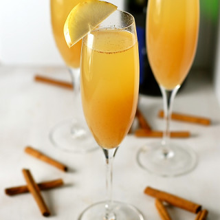 Five Ingredient Spiced Pear Bellini