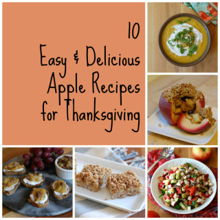 10 Apple Recipes for Thanksgiving