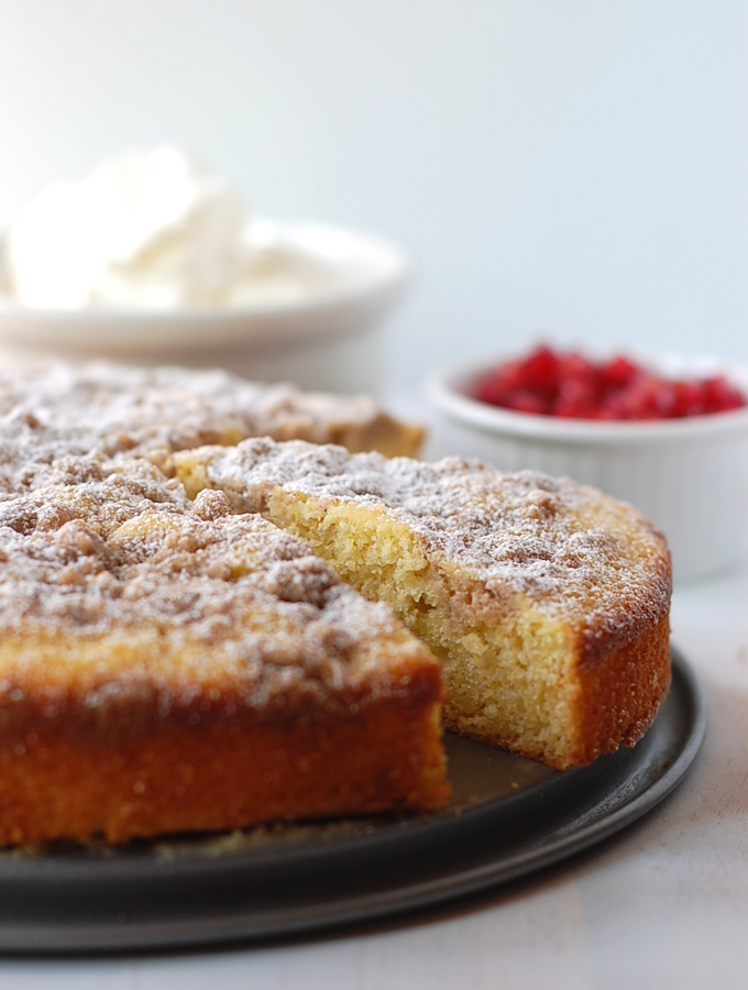 Cornbread Coffee Cake