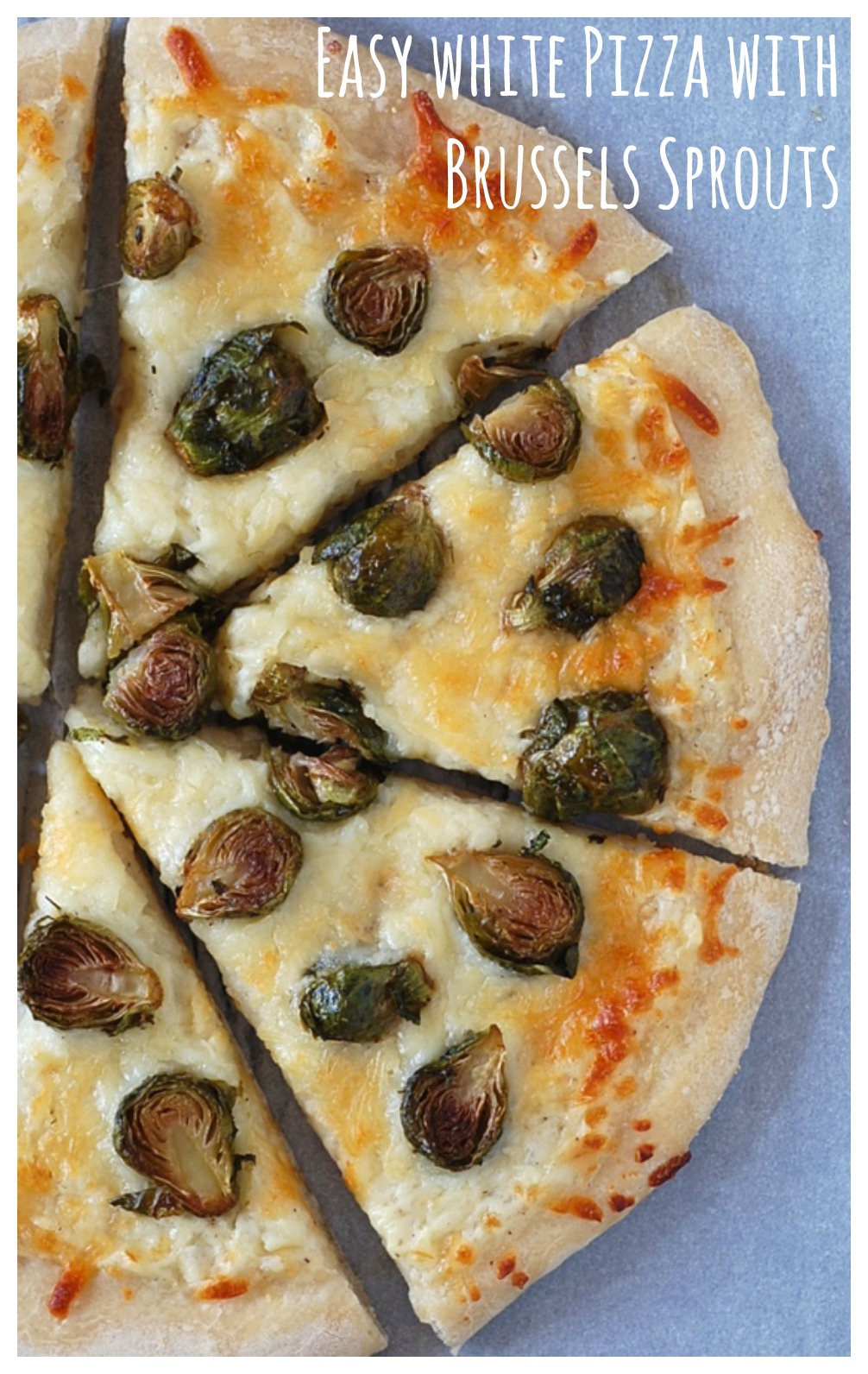 Seven ingredients to weeknight veggie pizza bliss!