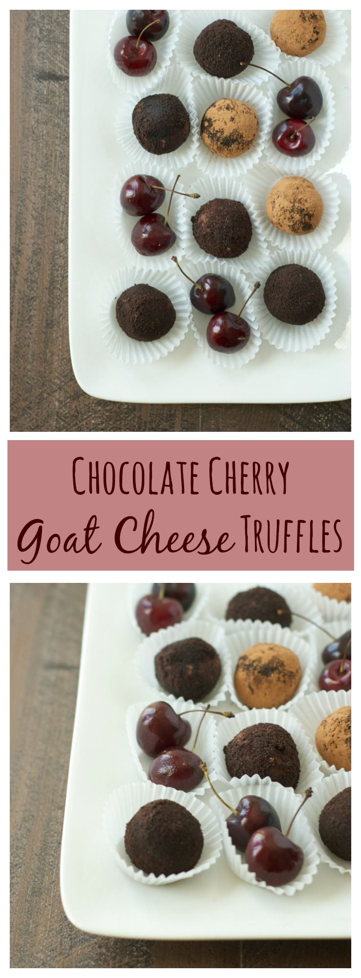 These luscious truffles have only four simple ingredients! Gluten-free and only 60 calories each. Go ahead, treat yourself!