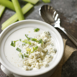 Light and Healthy Greek Yogurt Blue Cheese Dressing