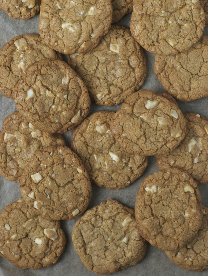 White Chocolate Macadamia Nut Cookies 2