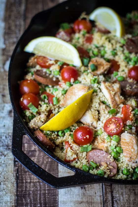 Chicken-Sausage-Couscous-Paella-4