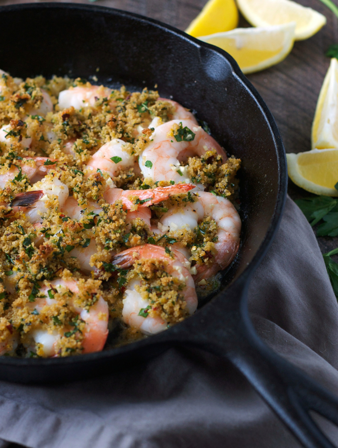Easy Baked Shrimp