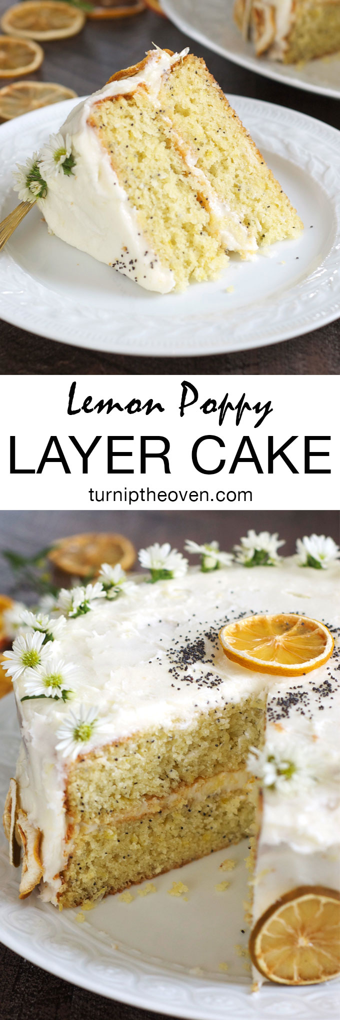 If you are a lemon lover, you will adore this bright, fresh lemon poppy layer cake topped with a cloud of sweet lemon buttercream frosting. This easy, straightforward recipe is perfect for any birthday or special occasion.