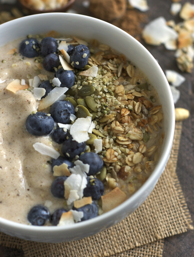 Maple Chai Smoothie bowl 2