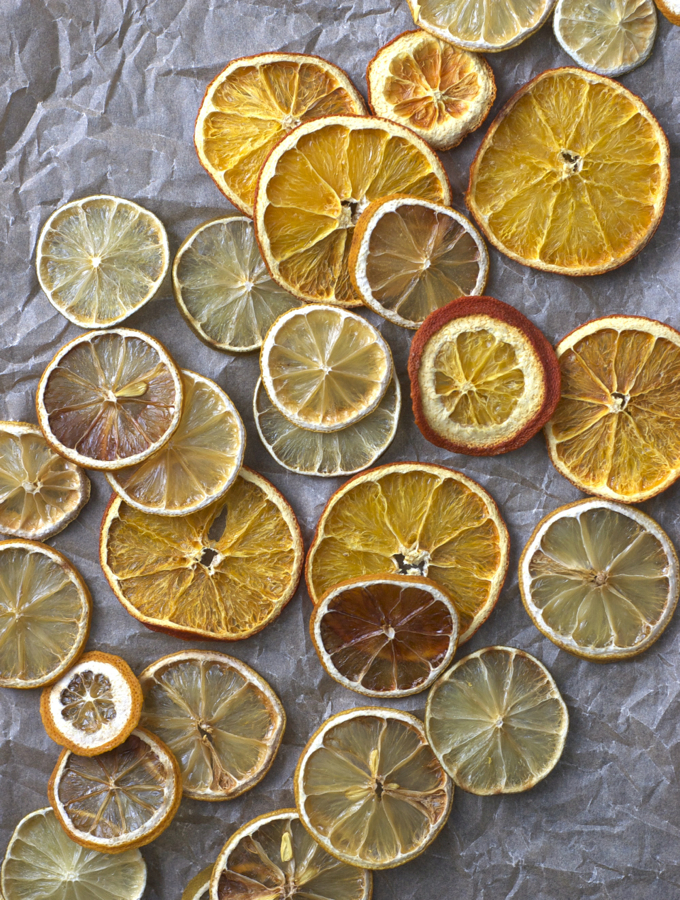 Homemade Dried Citrus
