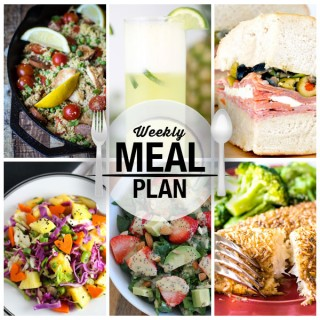 Weekly Meal Plan — Week 6