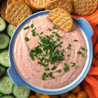 Creamy Roasted Tomato Dip