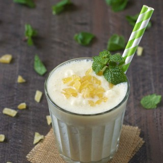 Ginger Pineapple Lassi + an Amazon Giveaway!