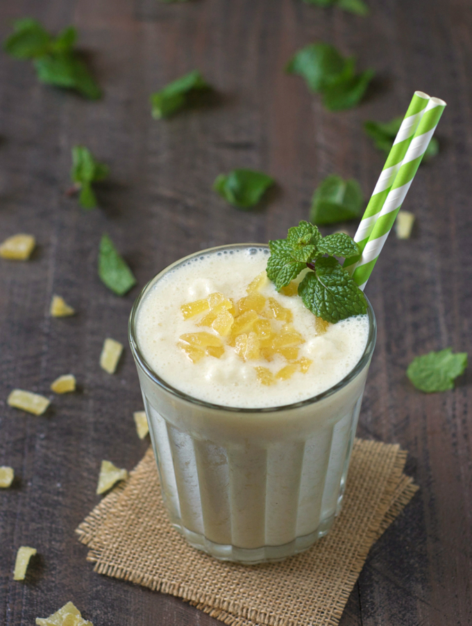 Ginger Pineapple Lassi