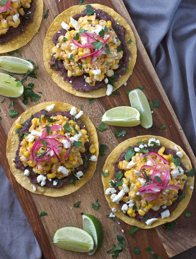 Резултат со слика за Spicy Mexican tostadas