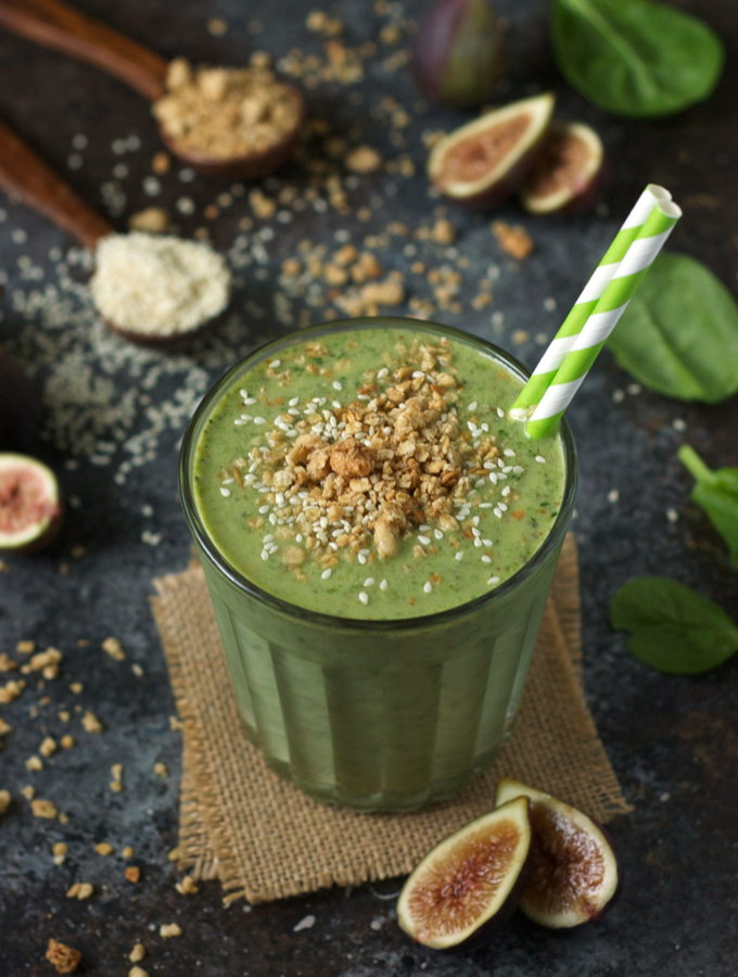 Tahini Fig Smoothie