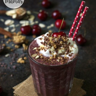 Black Forest Chocolate Cherry Smoothie