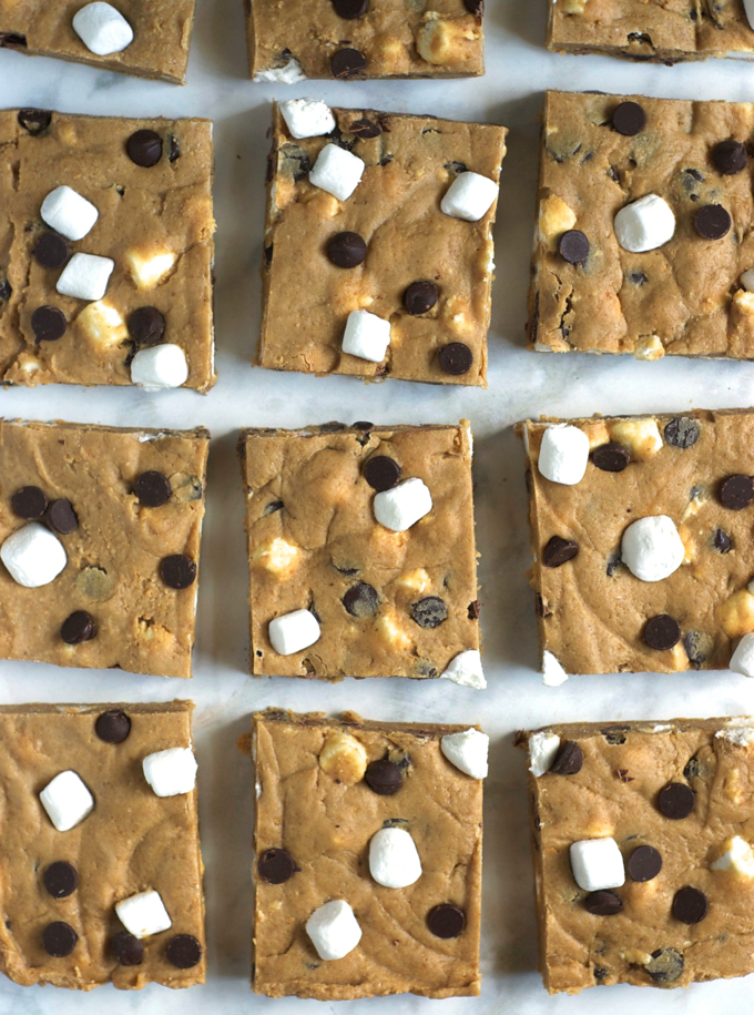 Easy No-Bake-S'Mores Bars