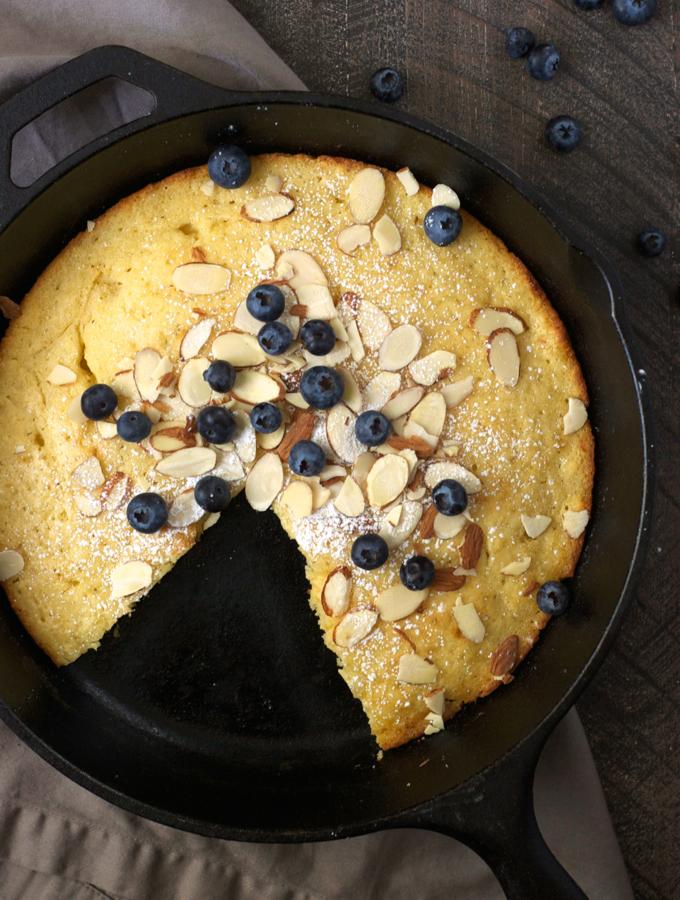 Oven-Baked Skillet Pancake