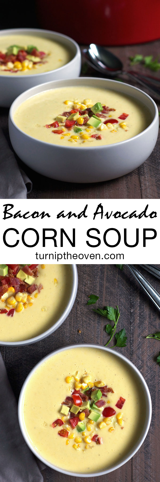 ... avocado cream avocado and bacon soup sweet corn soup summer sweet corn