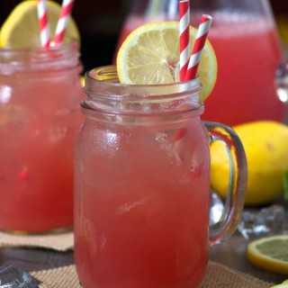 Refined Sugar-Free Watermelon Lemonade