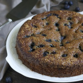 Blueberry Gingerbread