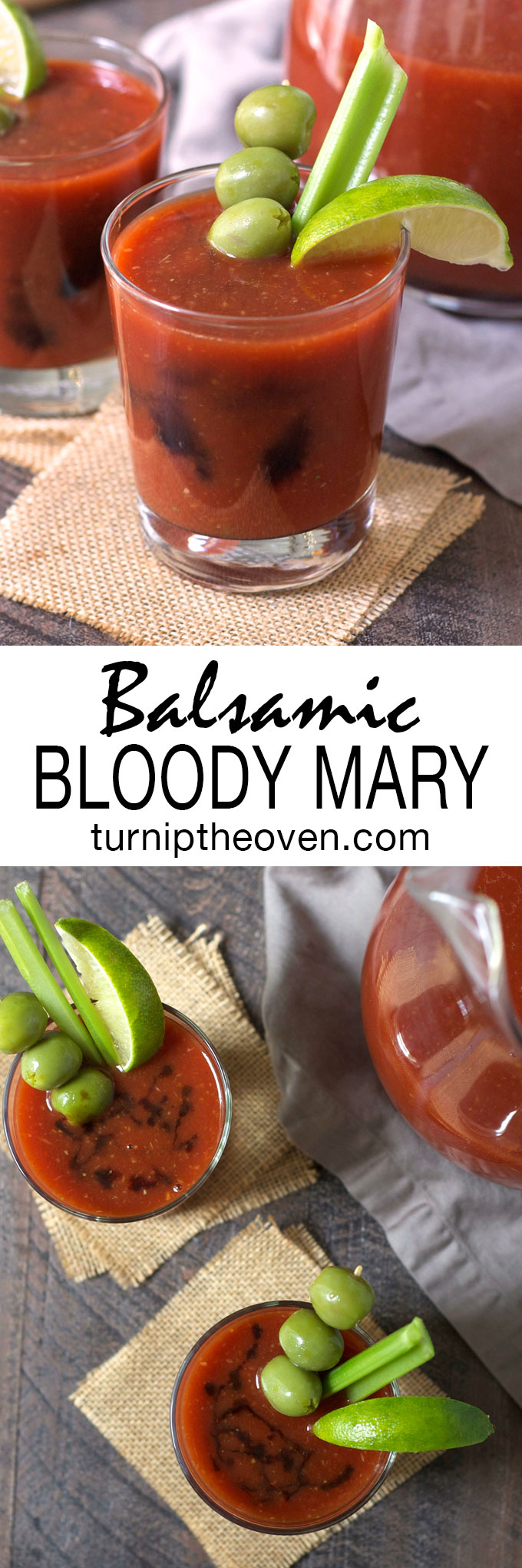 This balsamic bloody mary is a new twist on a classic cocktail–spicy ...
