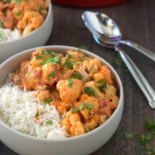 Coconut Cauliflower Curry