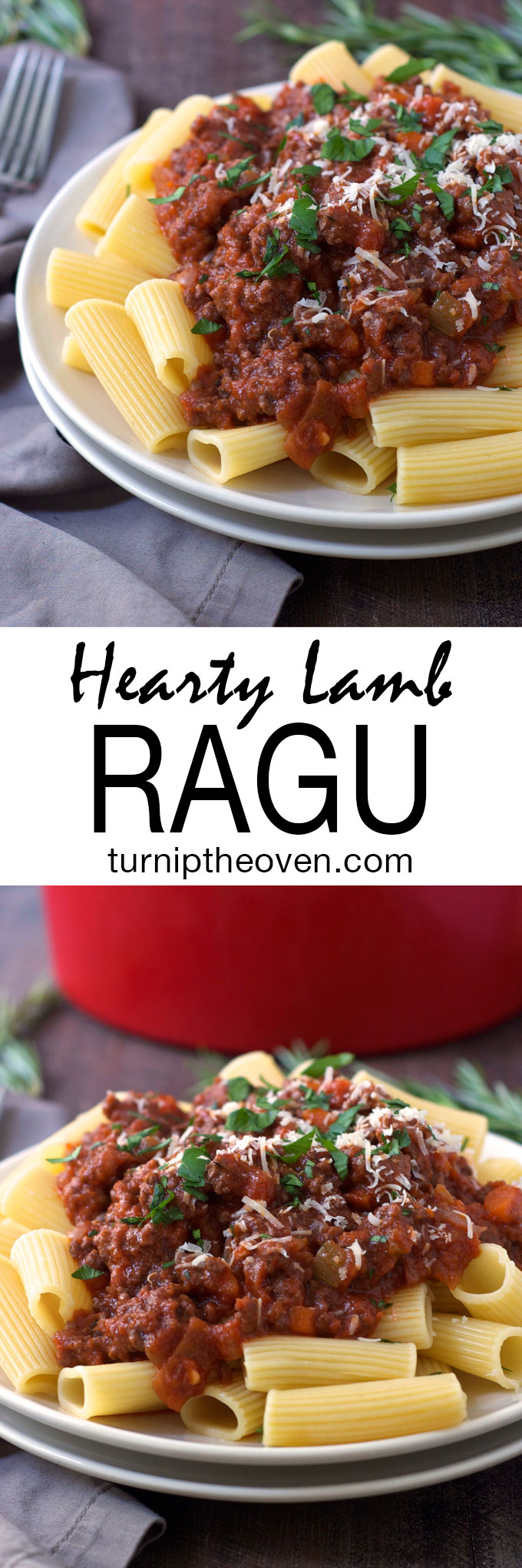 Lamb Ragu -- Put a new spin on traditional pasta sauce with this rich, hearty, soul-warming lamb ragu!