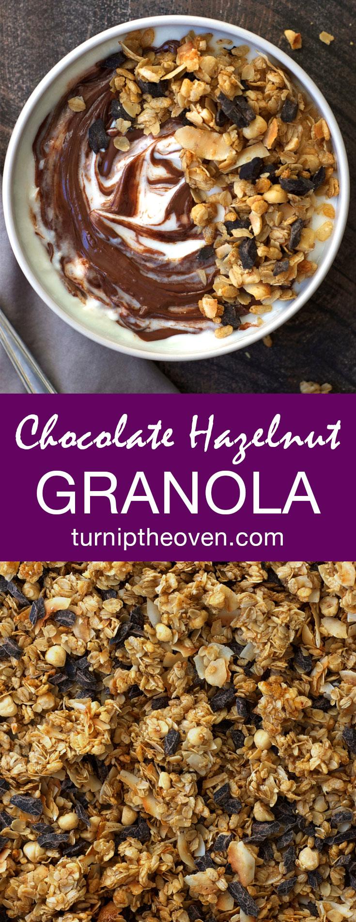 Chunky Chocolate Hazelnut Granola