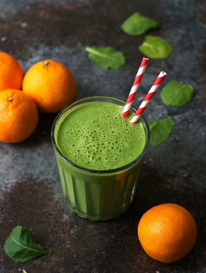 Kale Clementine Smoothie