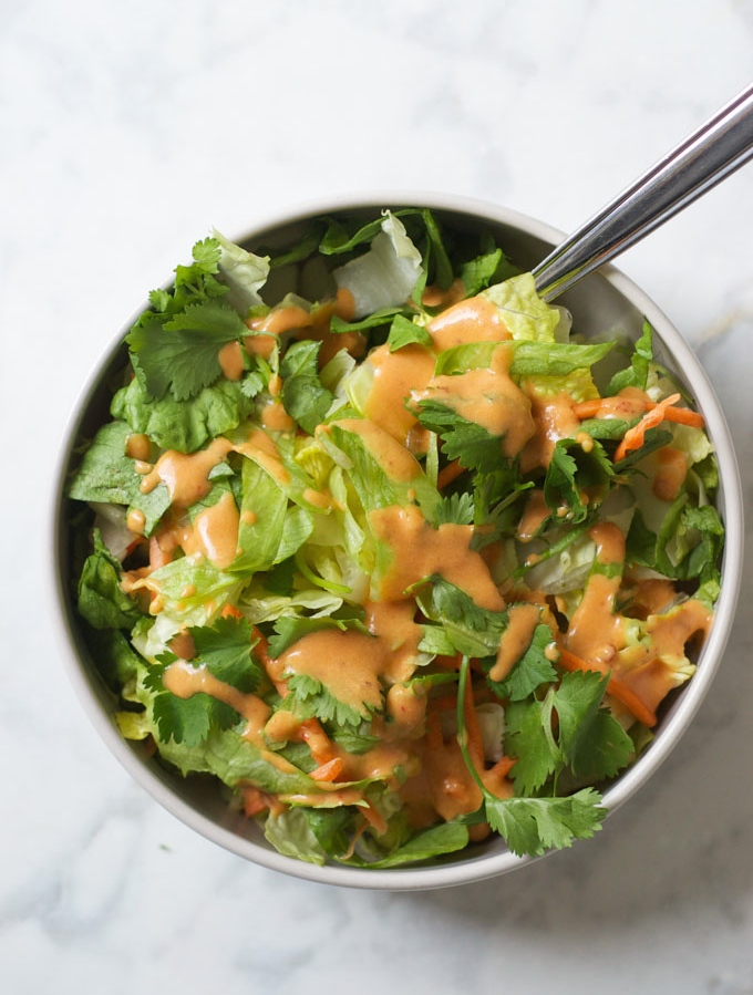 Healthy Honey Chipotle Dressing with Greek Yogurt 2