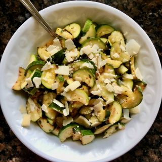 The Best Marinated Zucchini